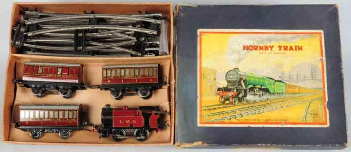 hornby 101 spielzeug eisenbahn lms personenzug 2270 lok spur 0