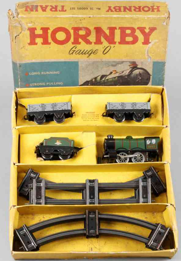 bing 20 spielzeug eisenbahn zugpackung gueterzug-set  lok 60985 tender 2 wagen spur 0