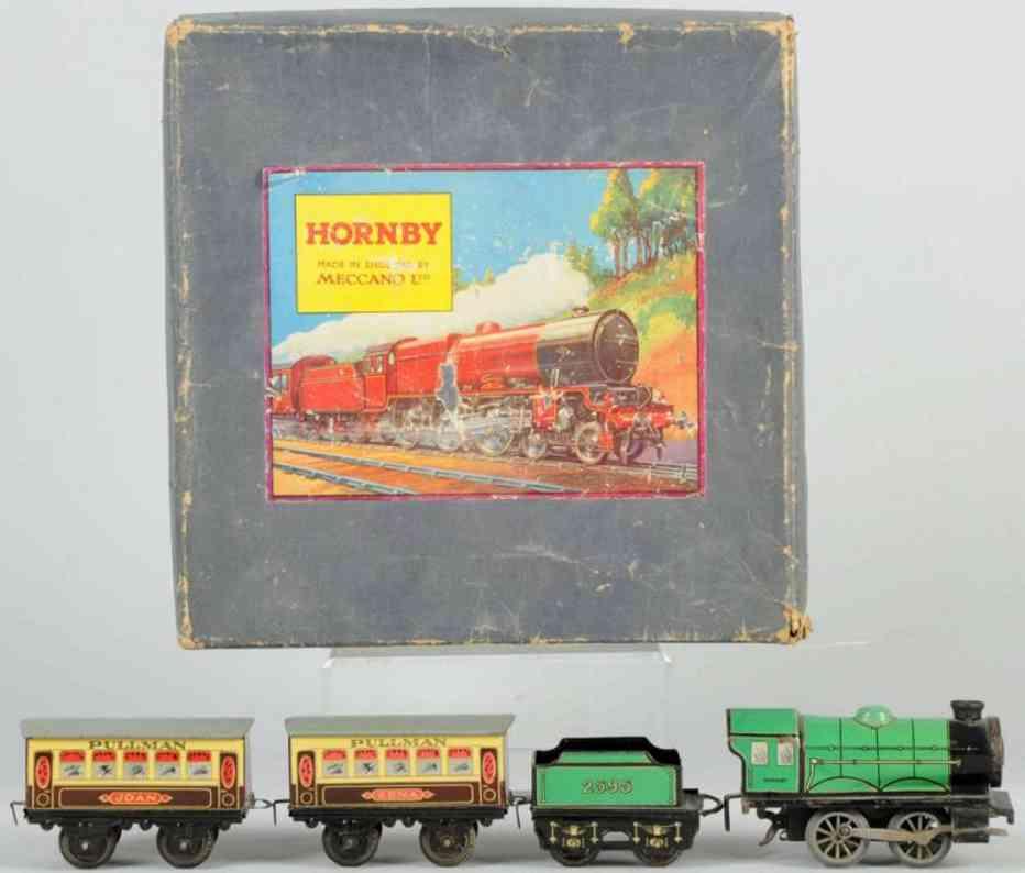 hornby 2595 eisenbahn englische personenzugpackung spur 0