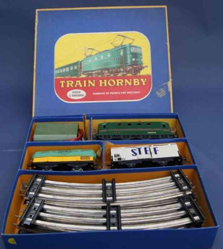 hornby BB8051 toy train set train package bbm le bourguignon gauge 0