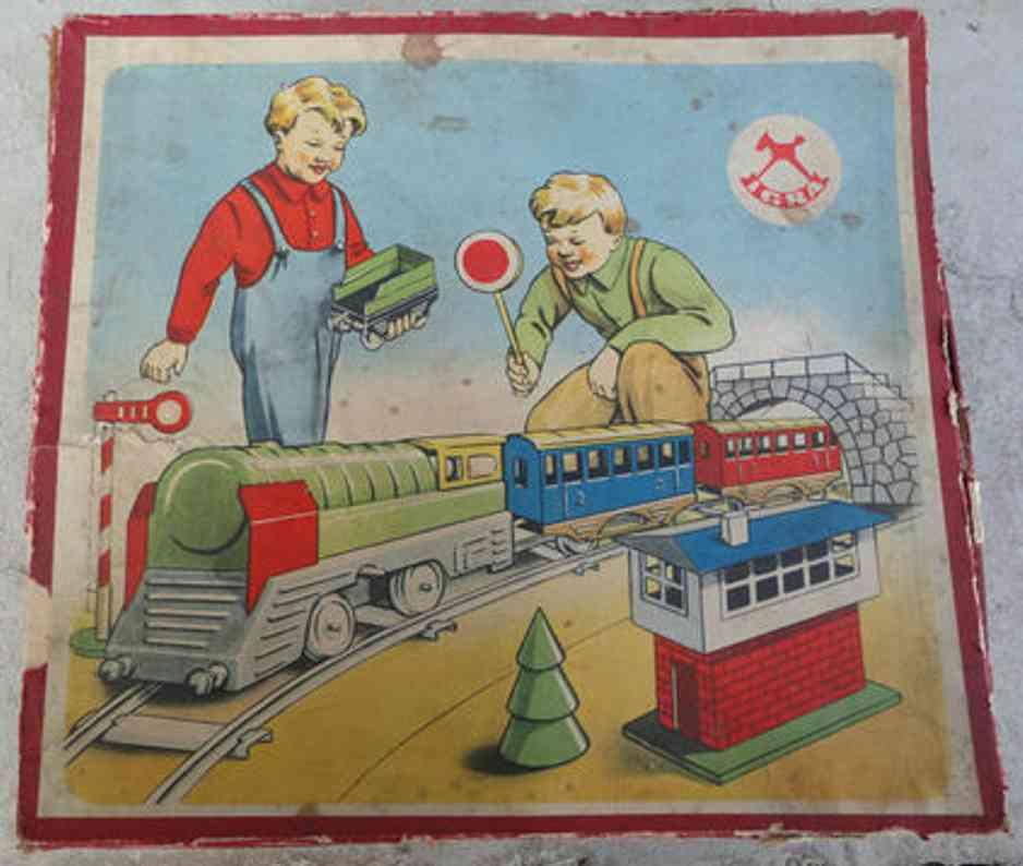 igra eisenbahn zugpackung uhrwerklokomotive spur 0