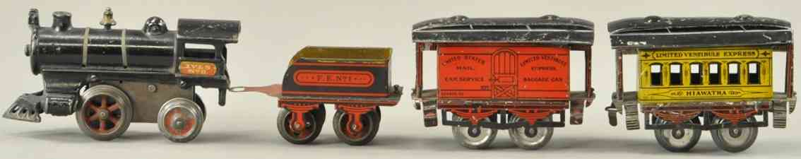 ives 0 FE1 50 51 alter indian personenzug hiawathe spur 0