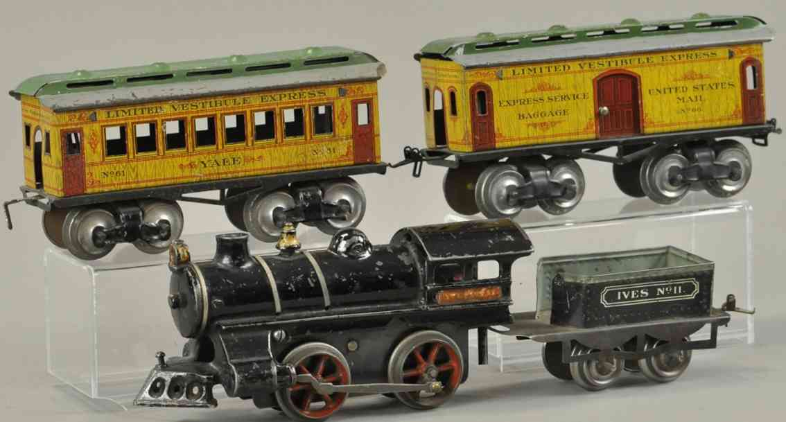 ives 11 11 60 61 spielzeug eisenbahn yale personenzug spur 0