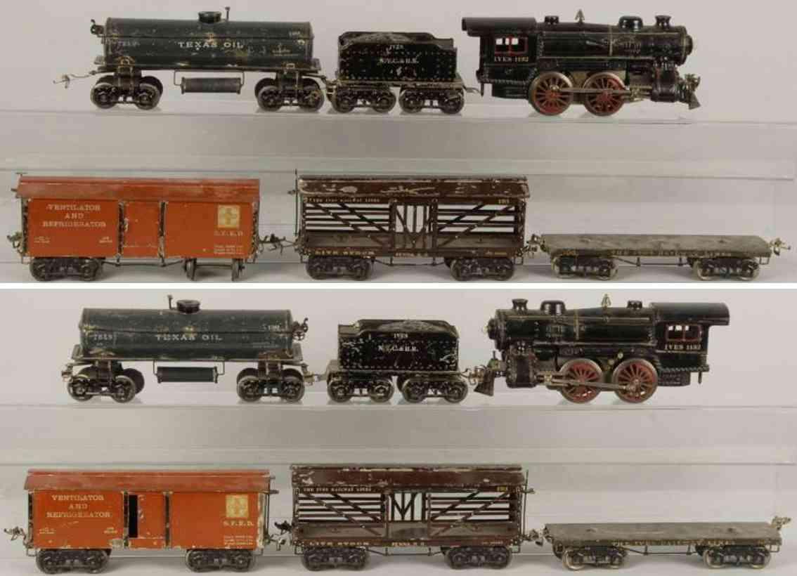 Ives 1132 Güterzug 190 192 193 196