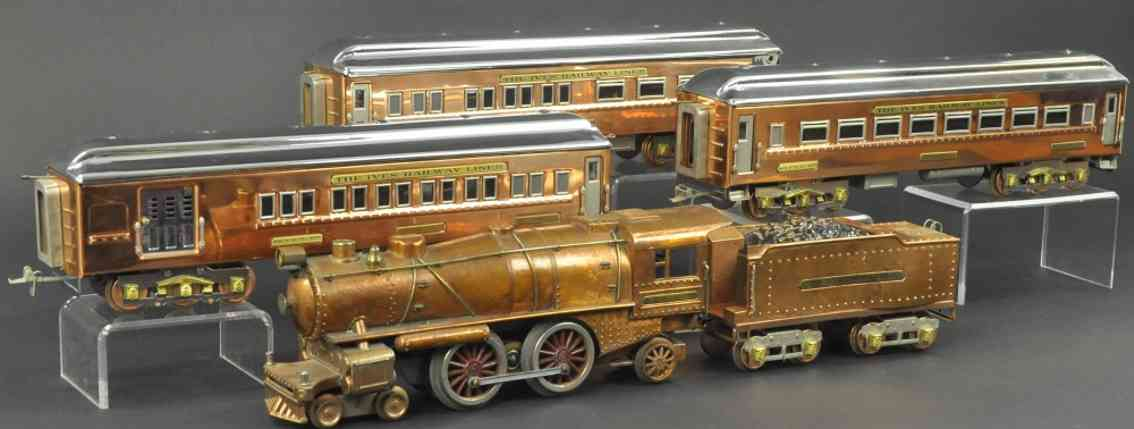ives 1134 241 242 243 personenzug prosperity special standard gauge