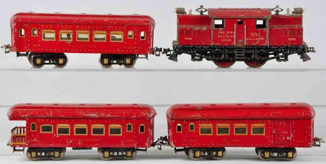 Ives 2342 Züge Personenzug 184 185 186