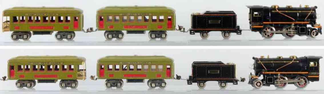 ives 257 257t 610 612 spielzeug eisenbahn personenzug spur 0