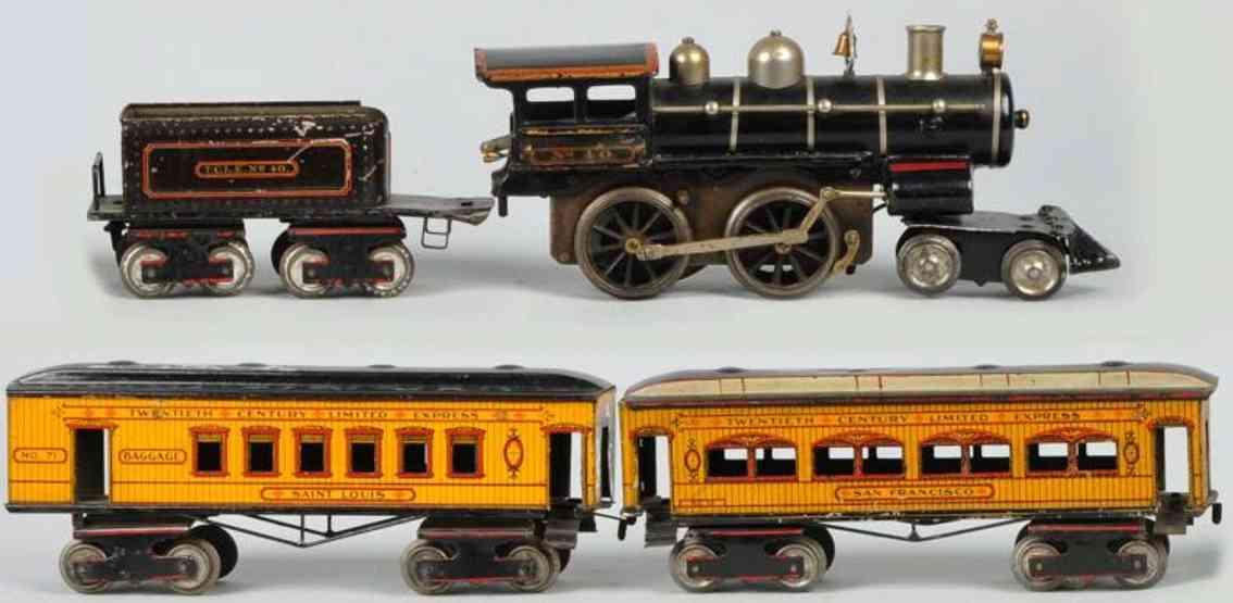 Ives 43 Züge Personenzug 40 71 72