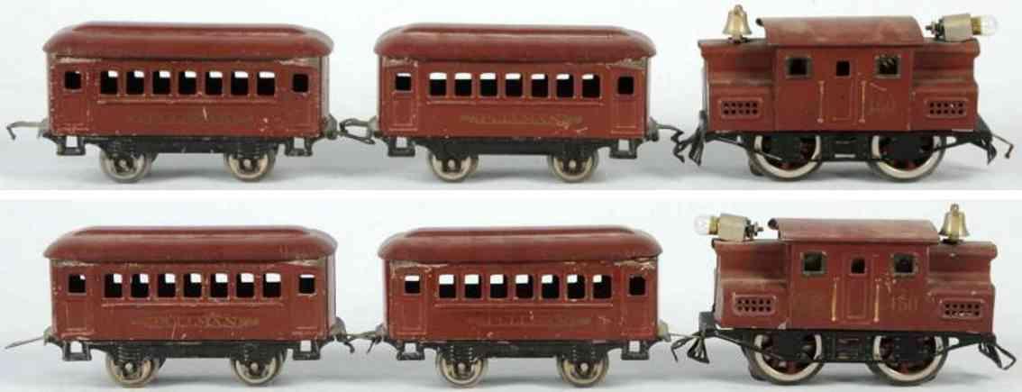 lionel 150 600 spielzeug eisenbahn personenzug  spur 0