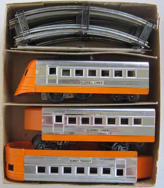 lionel 1535 spielzeug eisenbahn zugpackung mit uhrwerk-lokomotive spur 0