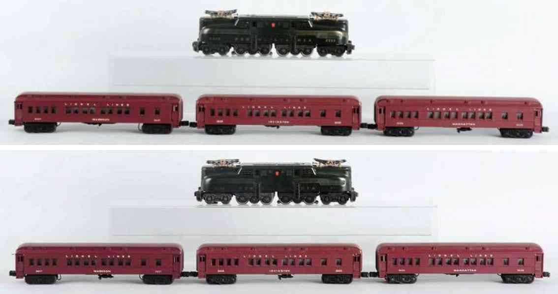 lionel 2144W 2332 GG1 eisenbahn personenzug spur 0