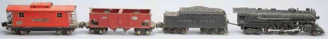 lionel lokomotive 226e tender 226w wagen 2816 caboose 2817 frachtzug