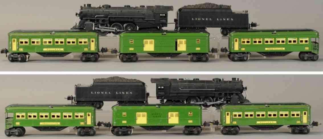 lionel 226e 226w 2613 2614 2615 eisenbahn personenzug spur 0
