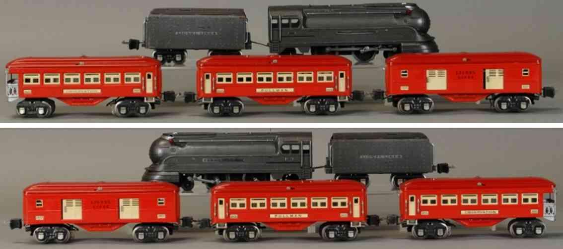 lionel 238e 265w 2600 2601 2602 spielzeug eisenbahn  personenzug