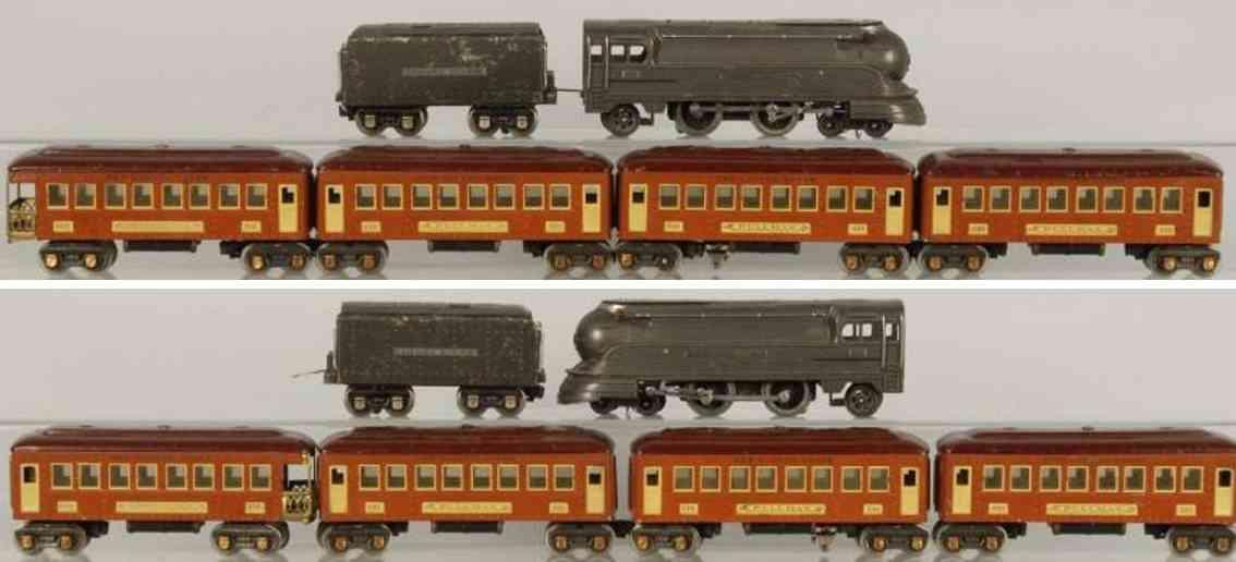 Lionel 238 E Personenzug 265W 600 Serie