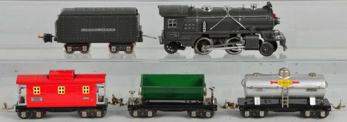 Lionel 249 249E 265T 654 657 659 Güterzug