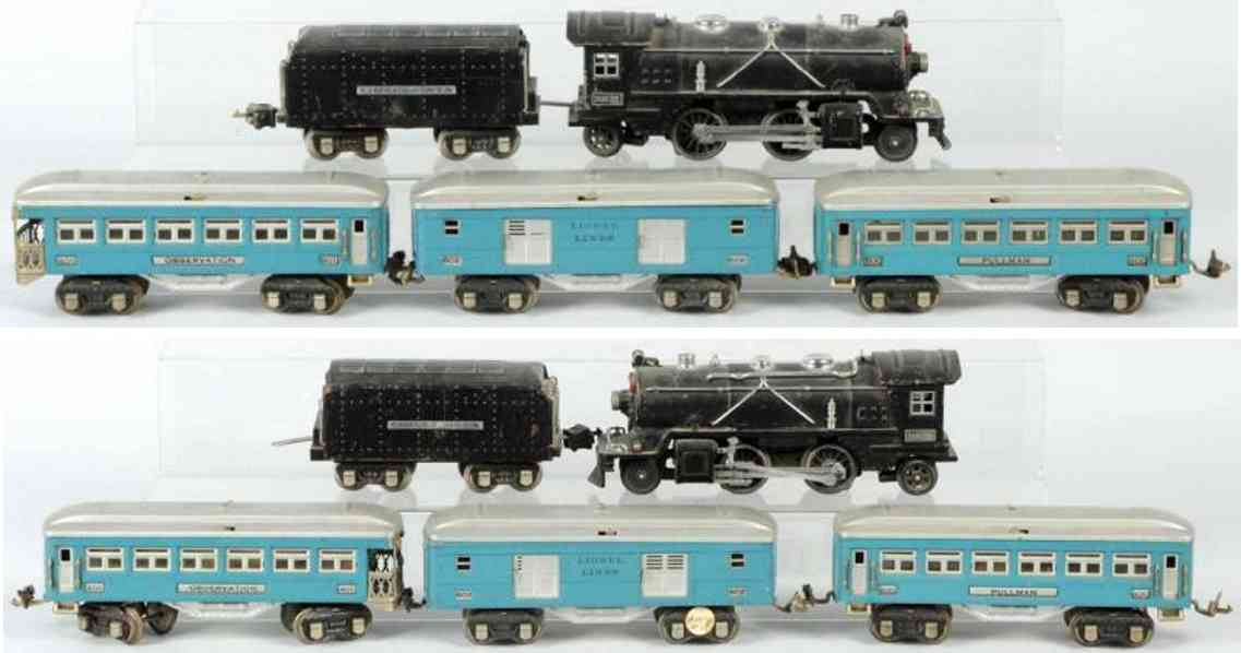lionel 249 lokomotive 249e tender 269t spielzeug eisenbahn personenzug spur 0