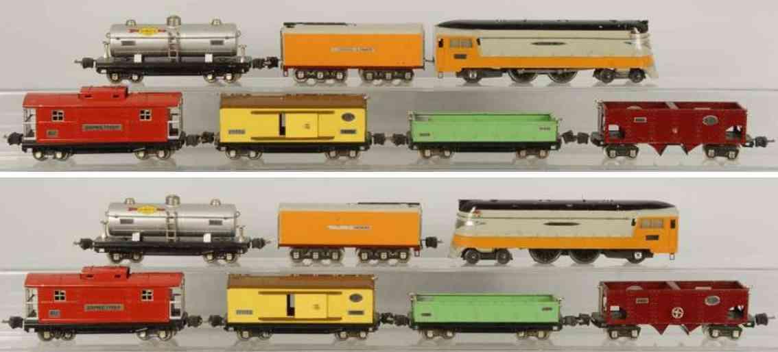 Lionel 250 E Güterzug Hiawatha 250W 812 814 815 816 817