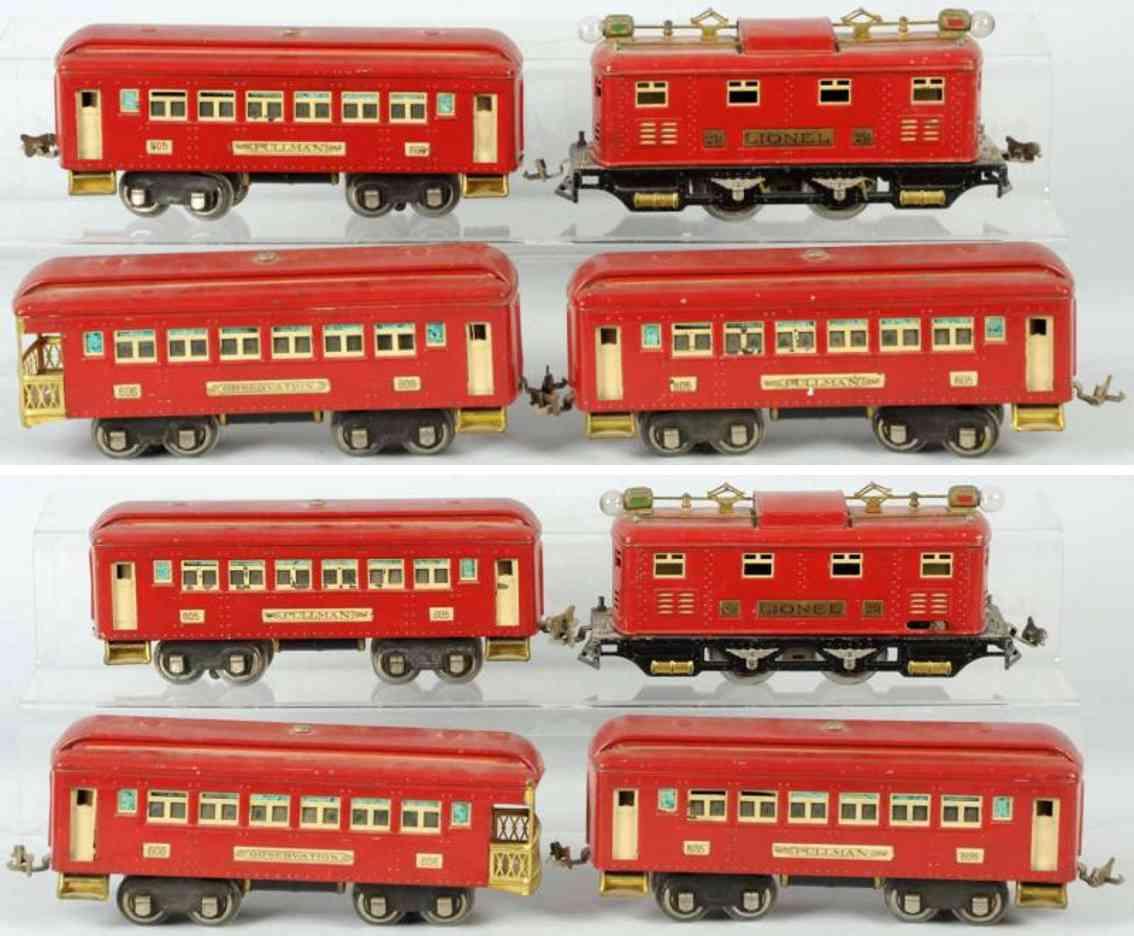 lionel lokomotive 251 spielzeug eisenbahn personenwagen spur 0