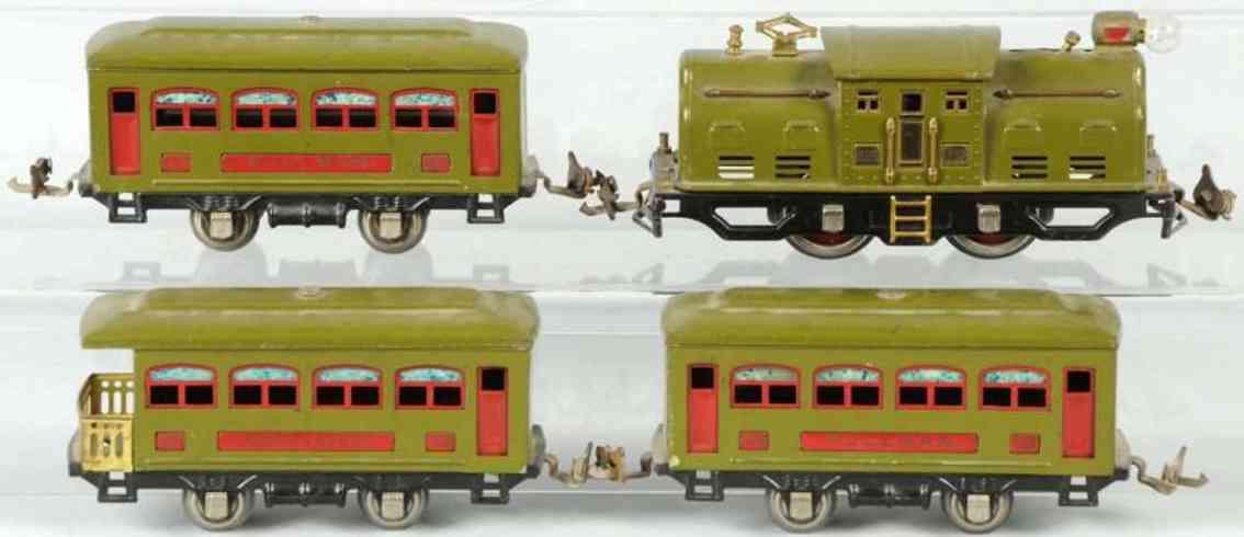 lionel 252 529 530 eisenbahn personenzug spur 0