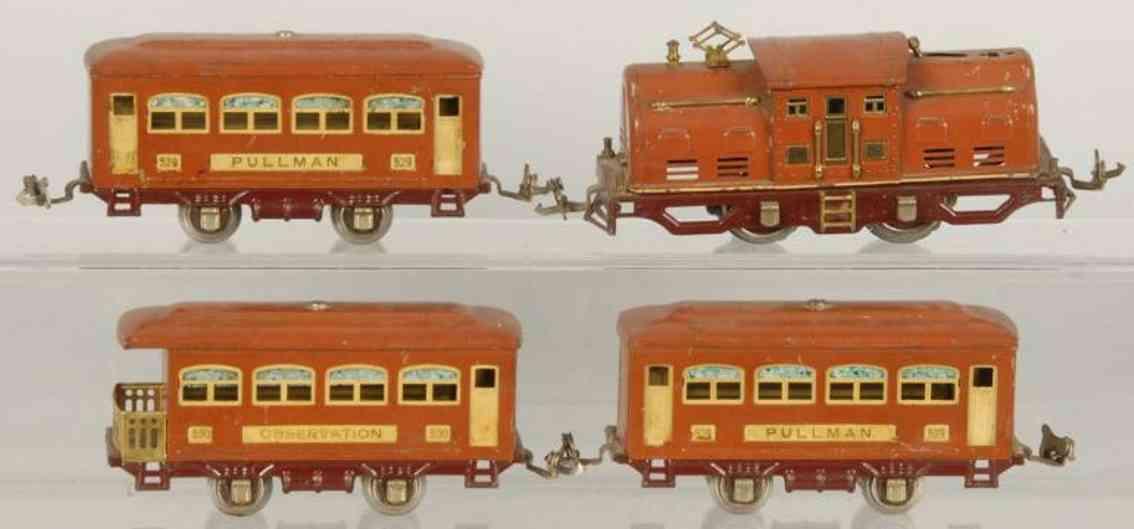 Lionel 252 Personenzug 529 530