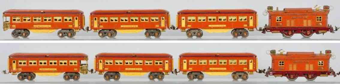 Lionel 253 Personenzug 613 614 615