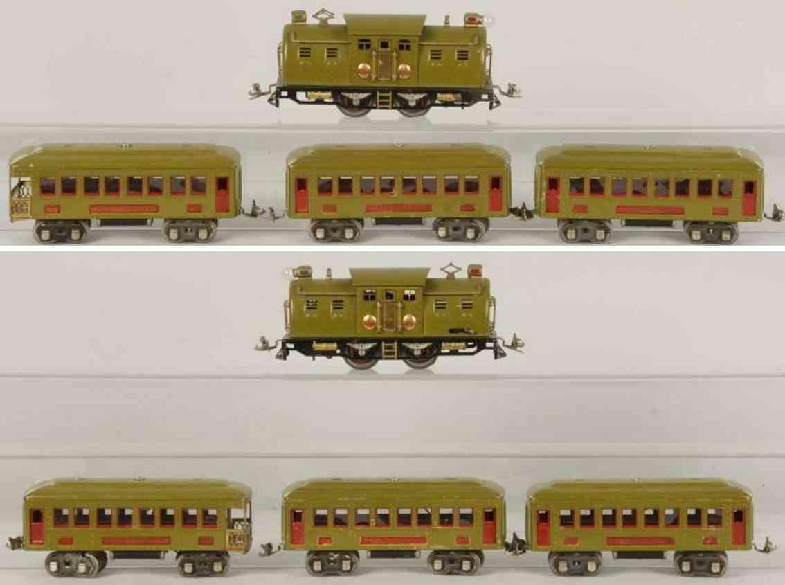Lionel 254E Züge Personenzug 610 612