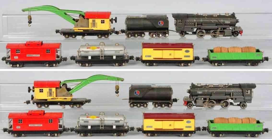 Lionel 255 E Güterzug 2810 2812 2814 2815 2817