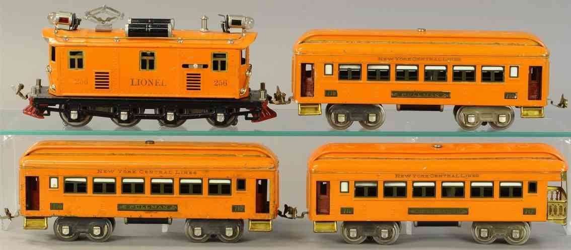 lionel 256 710 712 personenzug orange spur 0