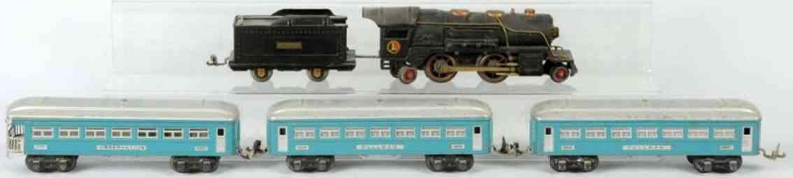 lionel dampflokomotive 259 1600 eisenbahn personenzug spur 0