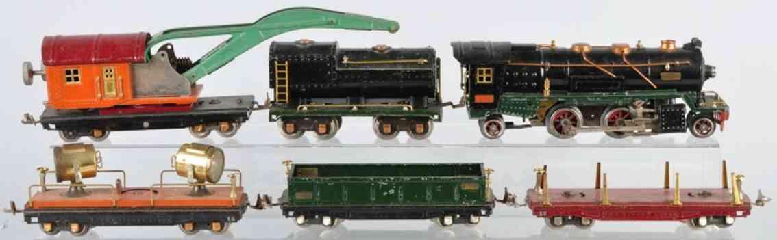 Lionel 260E Gütwerwagenzug 812 820 811 810