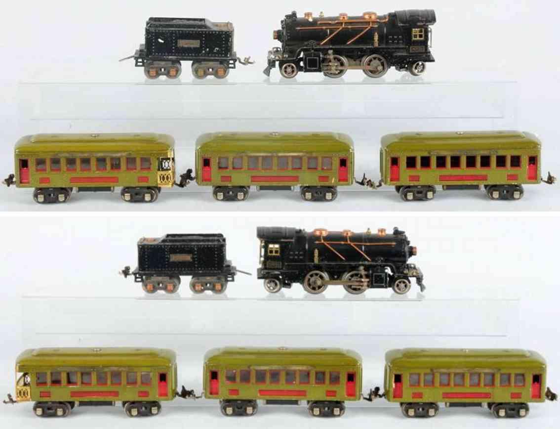 lionel 262 262e 262t 60´10 612 personenzug spur 0