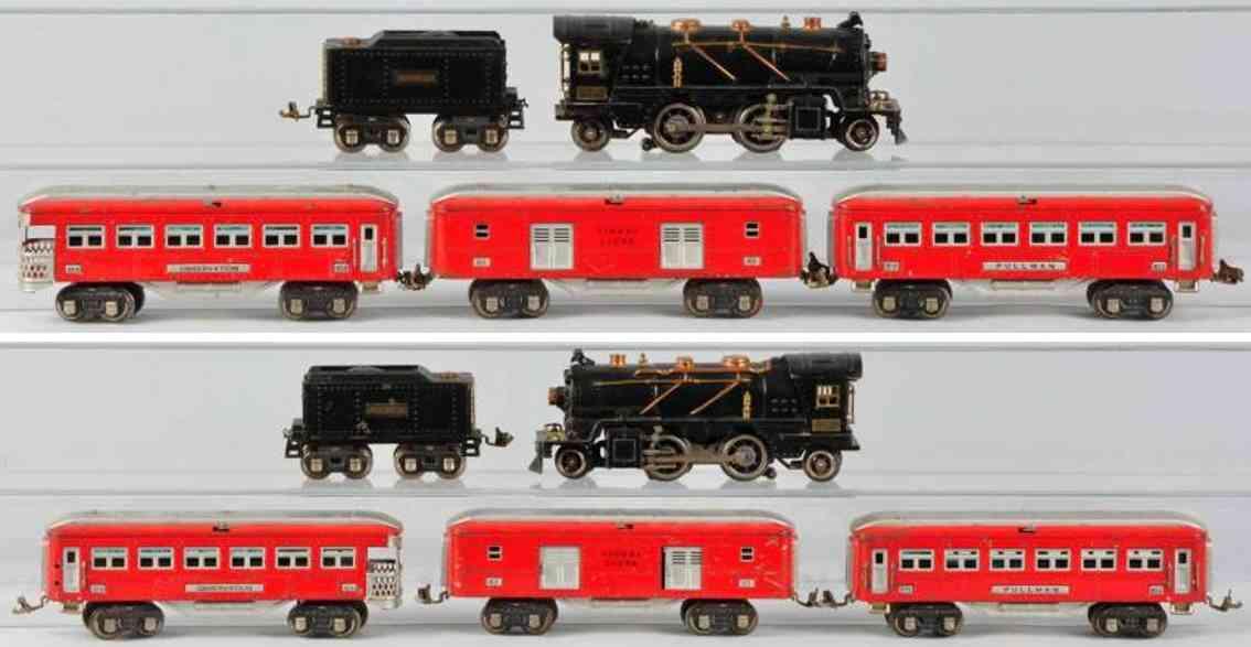 Lionel 262 E Personenzug 262T 613 614 615