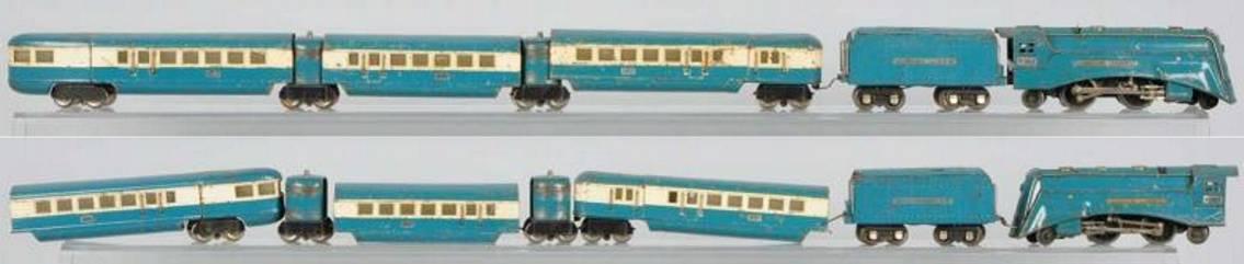 lionel 265e personenzug 617 618 619 spur 0