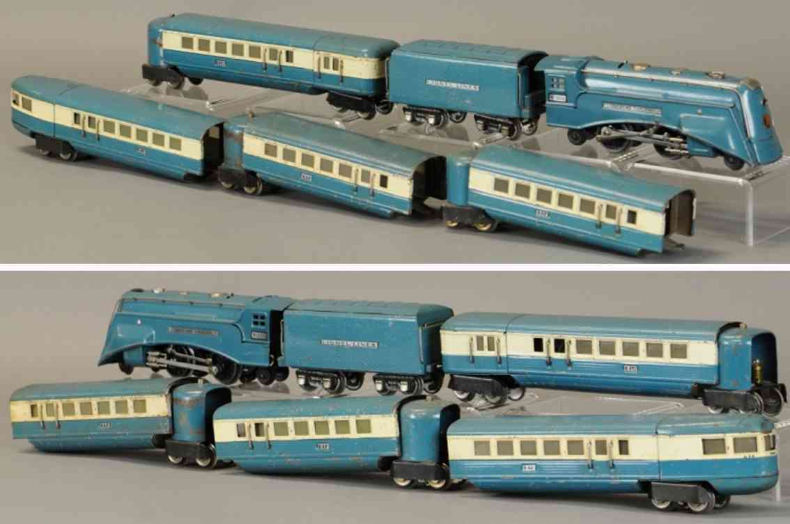 lionel 265e 617 618 619  eisenbahn personenzug balu spur 0