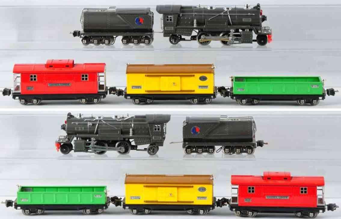 Lionel 275 W Güterzug 263E 263W 812 814 817