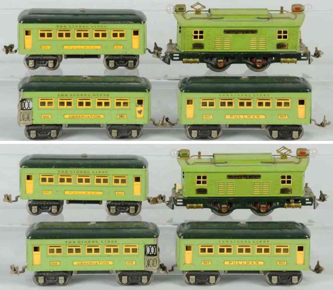 lionel 296 pesonenzug lokomotive 253 spur 0