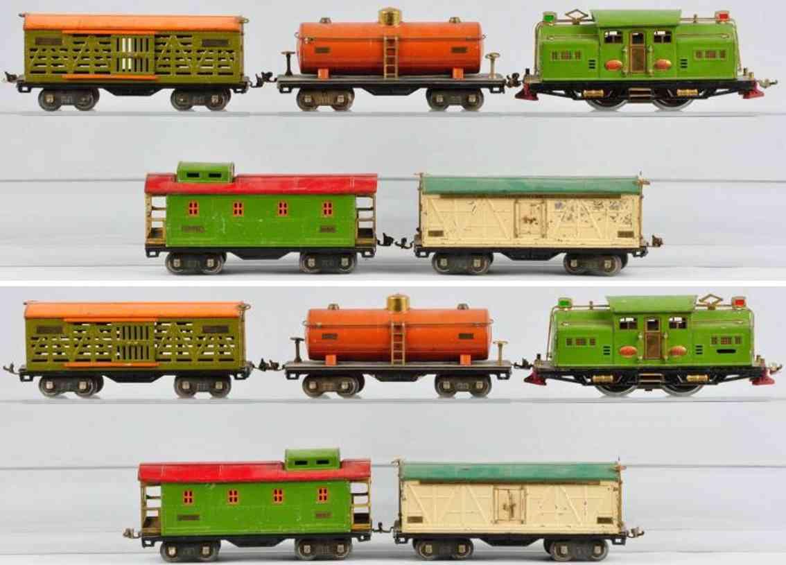 lionel 318e gueterzug standard gauge 513 514 515 517