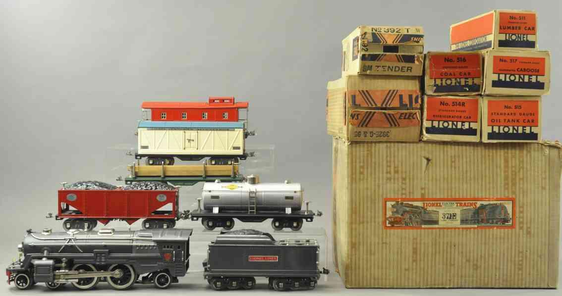lionel 371e 392e 392t 511 514r 515 516 517 eisenbahn frachtzug set standard gauge