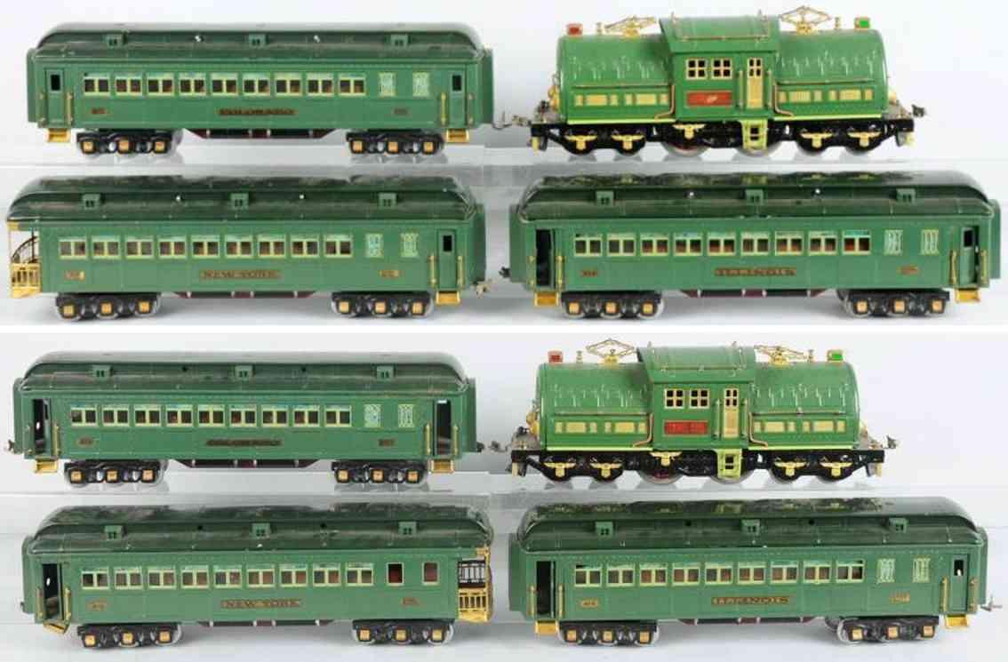 lionel 381e 413 414 416 personenzug standard gauge