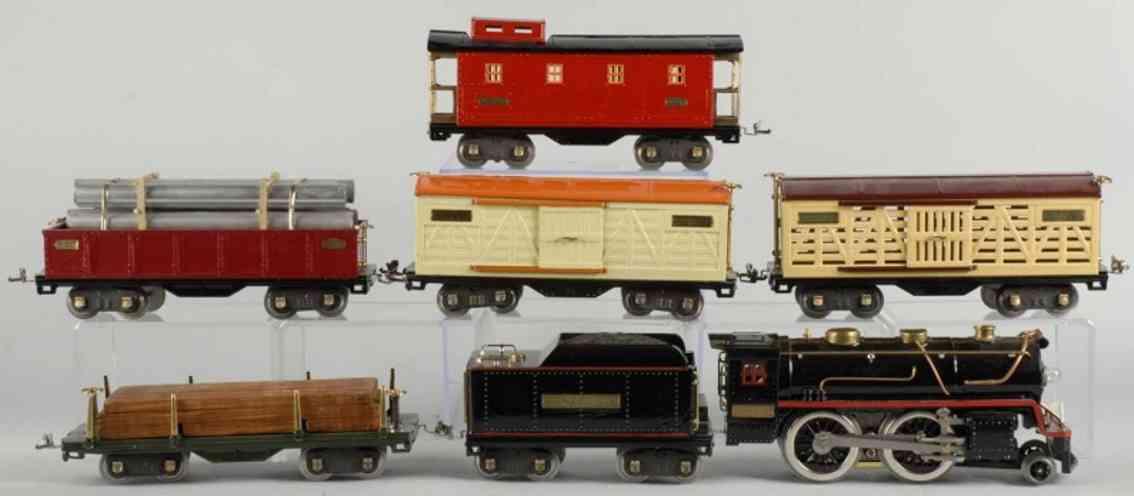 Lionel 384 Güterwagenzug 515 513 514 512 517