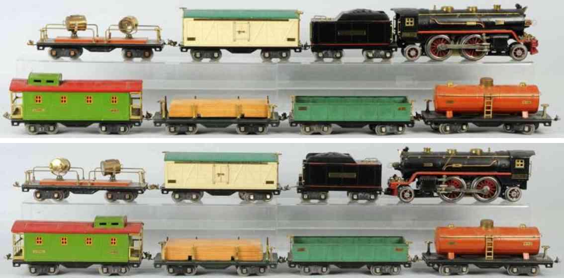 lionel 391 390 390T 511 512 520 spielzeug eisenbahn frachtzug  standard gauge