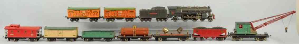 lionel 392e gueterzug 392w 219 513 514 515 516 220 512 517 standard gauge