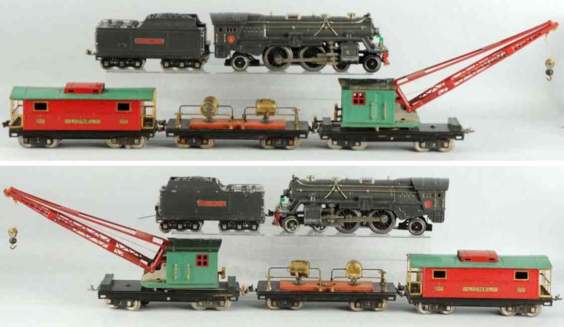 lionel 392 railway toy freight train set standard gauge
