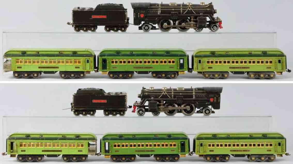 lionel personenzug lokomotive 392e tender 392w stephen girard 425 standard gauge