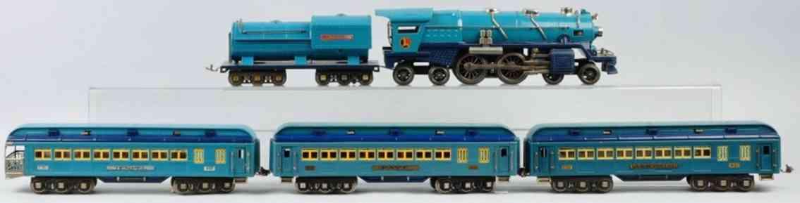 lionel 396e blaue komet personenzug 400e/w 420 421 422 standard gauge
