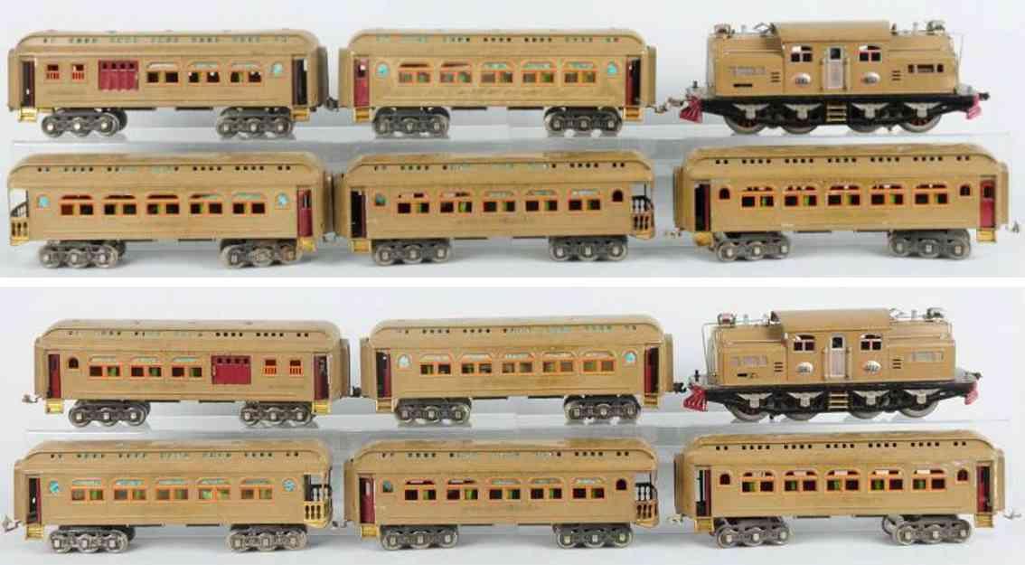 lionel 402 418 419 490 eisenbahn personenzug standard gauge