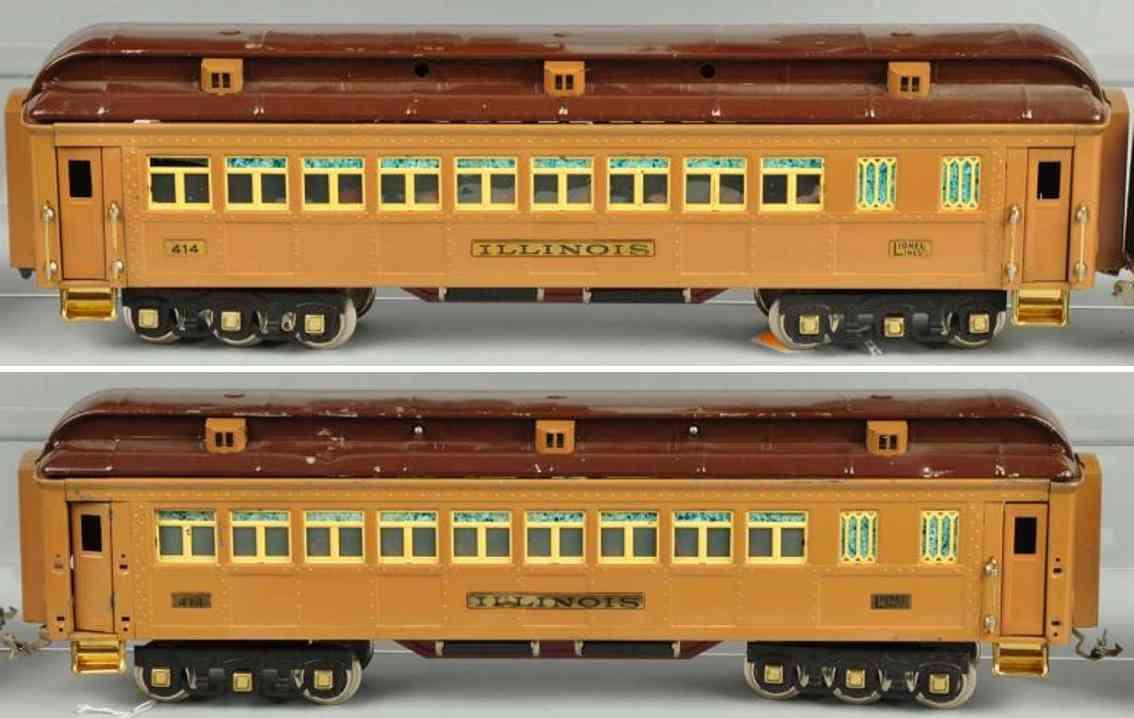 Lionel 408E Personenzug
