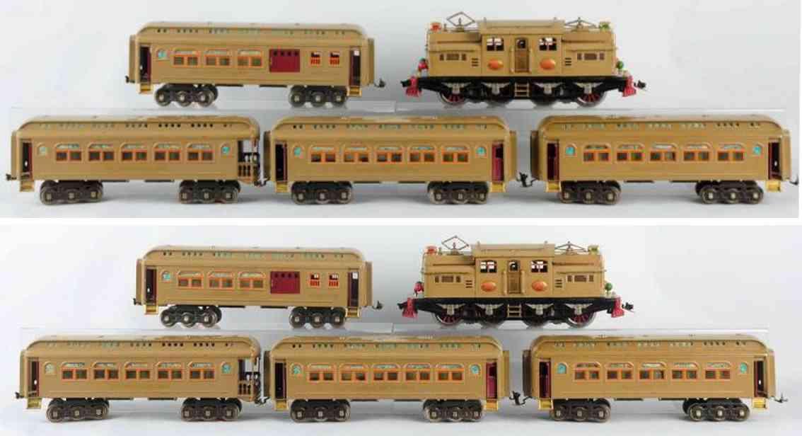 lionel 408e 418 419 490 eisenbahn personenzug standard gauge
