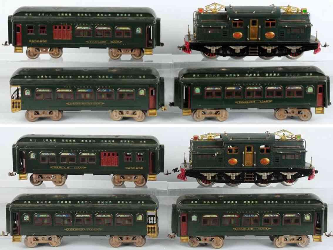 lionel 408e 428 429 430 eisenbahn personenzug standard gauge